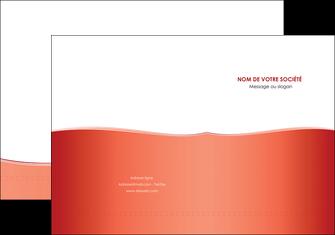 modele en ligne pochette a rabat rouge couleurs chaudes fond  colore MLIG68349