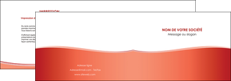 realiser depliant 2 volets  4 pages  rouge couleurs chaudes fond  colore MLGI68353