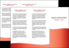 maquette en ligne a personnaliser depliant 3 volets  6 pages  rouge couleurs chaudes fond  colore MLIG68363