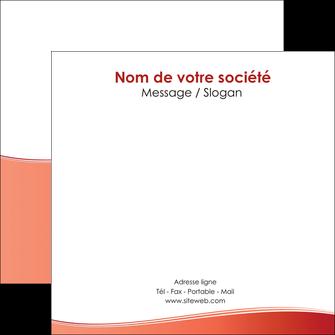 personnaliser maquette flyers rouge couleurs chaudes fond  colore MLGI68371