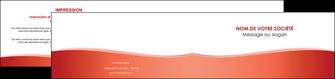 creer modele en ligne depliant 2 volets  4 pages  rouge couleurs chaudes fond  colore MLIG68373