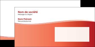 personnaliser maquette enveloppe rouge couleurs chaudes fond  colore MLGI68375