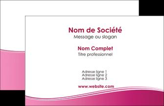 Cree Carte De Visite Rose Pastel Fond Couleur MLGI68387