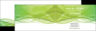 creer modele en ligne carte de visite espaces verts vert vert pastel couleur pastel MLGI68561
