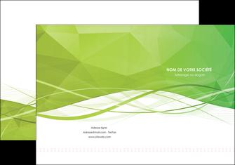 faire modele a imprimer pochette a rabat espaces verts vert vert pastel couleur pastel MLGI68565