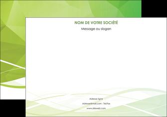 personnaliser maquette affiche espaces verts vert vert pastel couleur pastel MLGI68573