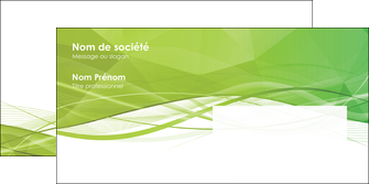 impression enveloppe espaces verts vert vert pastel couleur pastel MLGI68591