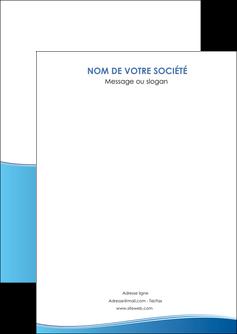 maquette en ligne a personnaliser flyers bleu bleu pastel fond pastel MLGI68617