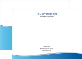 creer modele en ligne affiche bleu bleu pastel fond pastel MLGI68633