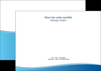 modele en ligne flyers bleu bleu pastel fond pastel MLGI68637
