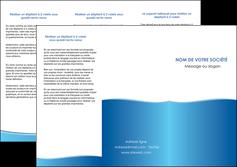 personnaliser modele de depliant 3 volets  6 pages  bleu bleu pastel fond pastel MLGI68639