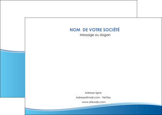 creation graphique en ligne flyers bleu bleu pastel fond pastel MLGI68641