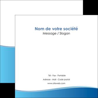 realiser flyers bleu bleu pastel fond pastel MLGI68645