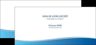 personnaliser maquette carte de correspondance bleu bleu pastel fond pastel MLGI68651