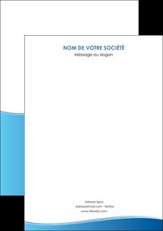 imprimerie affiche bleu bleu pastel fond pastel MLGI68655