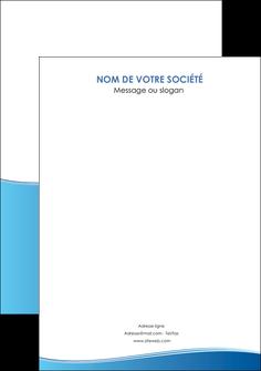 imprimerie flyers bleu bleu pastel fond pastel MLGI68659