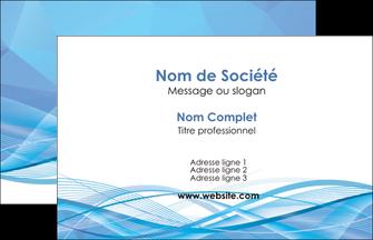 exemple carte de visite bleu bleu pastel fond bleu pastel MLGI68925
