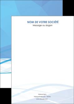 faire flyers bleu bleu pastel fond bleu pastel MLGI68929