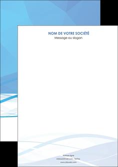 modele affiche bleu bleu pastel fond bleu pastel MLGI68933