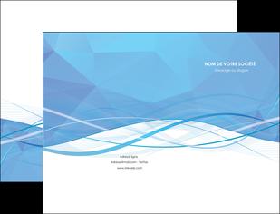 creation graphique en ligne pochette a rabat bleu bleu pastel fond bleu pastel MLGI68937