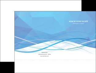 realiser pochette a rabat bleu bleu pastel fond bleu pastel MLGI68939