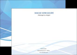 modele affiche bleu bleu pastel fond bleu pastel MLGI68945