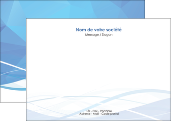 modele en ligne flyers bleu bleu pastel fond bleu pastel MLGI68949