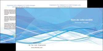 personnaliser modele de depliant 2 volets  4 pages  bleu bleu pastel fond bleu pastel MLGI68955