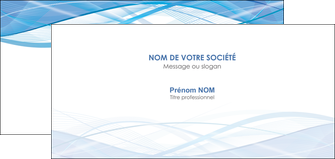 impression carte de correspondance bleu bleu pastel fond bleu pastel MLGI68963