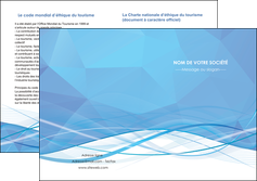personnaliser maquette depliant 2 volets  4 pages  bleu bleu pastel fond bleu pastel MLGI68965