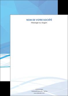 personnaliser maquette affiche bleu bleu pastel fond bleu pastel MLGI68967