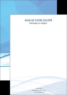 exemple flyers bleu bleu pastel fond bleu pastel MLGI68971