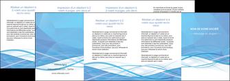 personnaliser modele de depliant 4 volets  8 pages  bleu bleu pastel fond bleu pastel MLGI68975