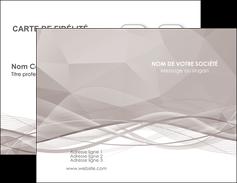 imprimerie carte de visite gris fond gris simple MLGI69005