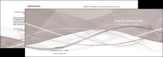 modele en ligne depliant 2 volets  4 pages  gris fond gris simple MLGI69011
