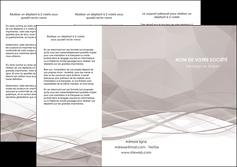 exemple depliant 3 volets  6 pages  gris fond gris simple MLGI69021
