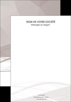 personnaliser modele de flyers gris fond gris simple MLGI69041