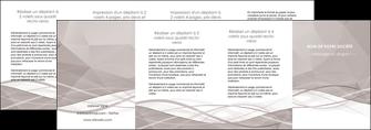 creation graphique en ligne depliant 4 volets  8 pages  gris fond gris simple MLGI69045