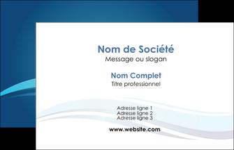 imprimer carte de visite bleu bleu pastel fond bleu MIS69623