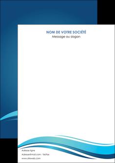 personnaliser maquette flyers bleu bleu pastel fond bleu MIS69625