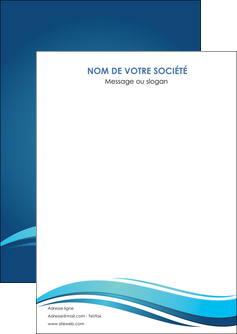 creation graphique en ligne flyers bleu bleu pastel fond bleu MLGI69627
