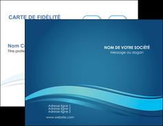modele en ligne carte de visite bleu bleu pastel fond bleu MIS69633