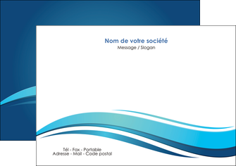 personnaliser modele de flyers bleu bleu pastel fond bleu MIS69647