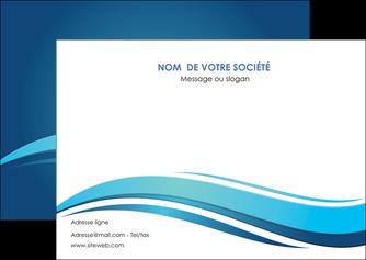 imprimerie flyers bleu bleu pastel fond bleu MIS69651