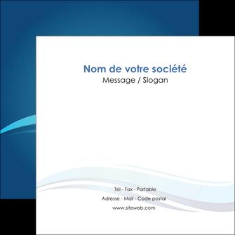 imprimerie flyers bleu bleu pastel fond bleu MIS69655