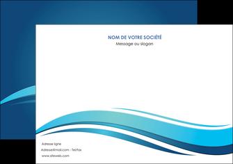 imprimer flyers bleu bleu pastel fond bleu MIS69657