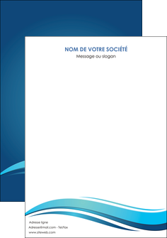 maquette en ligne a personnaliser affiche bleu bleu pastel fond bleu MIS69665