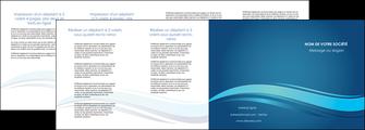 modele en ligne depliant 4 volets  8 pages  bleu bleu pastel fond bleu MIS69667