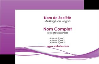 personnaliser maquette carte de visite web design fond violet fond colore action MIF69779