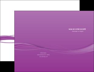 modele pochette a rabat web design fond violet fond colore action MIF69791